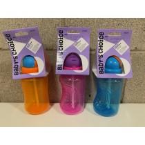 Baby's Choice Pop-Up Straw Bottle