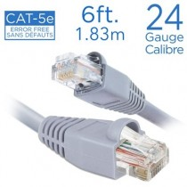 eLink Straight Patch Cable - Cat 5e ~ 6' / 1.83M