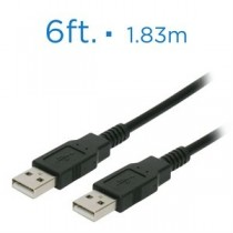 eLink USB Cable - Type A Male to Male ~ 6' / 1.83M