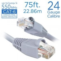 Straight Patch Cable - Cat 6 ~ 75'