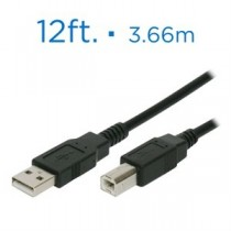 USB Device Cable ~ 12' / 3.66M