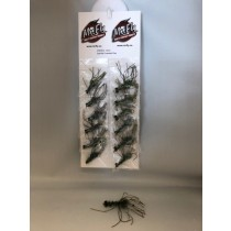 Olive Sparkle Crawdad Flies