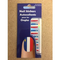Acadian Nail Stickers