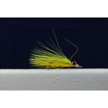 Clouser Minnow Flies - Size 4 ~ Chartreuse / Yellow