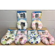 Baby Neck Pillow & Seatbelt Pads ~ 3 pieces