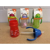 Tootsie Baby Printed Sipper Bottle w/Handles ~ 6oz