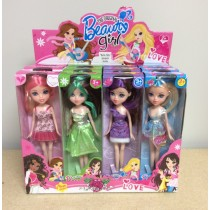 "Beauty Girl Fashion Doll ~ 9"""