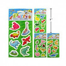Woody's Puffy Stickers ~ Dinosaurs