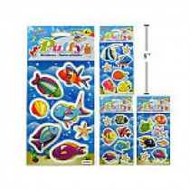 Woody's Puffy Stickers ~ Fish
