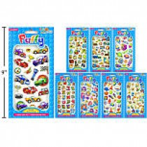 Woody's Puffy Stickers