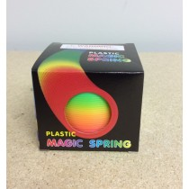 Rainbow Plastic Magic Spring