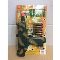 """Toy UZI w/ Safety Bullets ~ 10"""""""