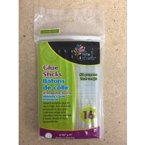 "Glue Sticks for Glue Guns - 4"" x 5/16"" D ~ 16 per pack"