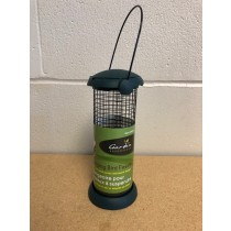 Hanging Bird Feeder with Iron Mesh