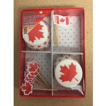 Canada Cupcake Decoration Kit