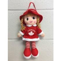 "Canada Doll ~ 11.5"" tall"
