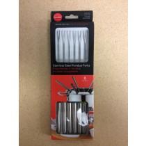 Stainless Steel Fondue Forks ~ 6 per pack
