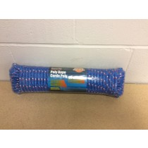 "Poly Rope ~ 100' x 3/8"" ~ Blue"