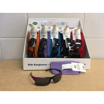 Excel Vision Kid's Sunglasses w/Case