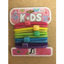 Kid's Ponyholder with Beads ~ 10 per pack