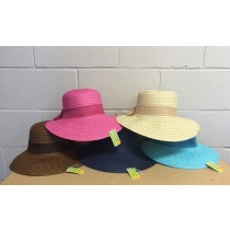 Ladies Summer Paper Hat