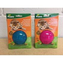"Cat Dry Food Treat Ball ~ 3.25""D"