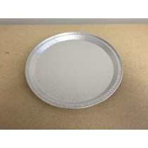 Foil Round Embossed Tray ~ 12""