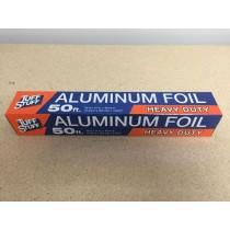 "Aluminum Foil - Heavy Duty ~ 50' x 12"""