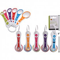 Plastic Measuring Spoons ~ 6 per set