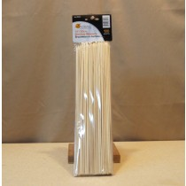 "Bamboo Skewers - 12"" long ~ 100 per pack"