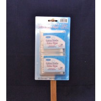 Cotton Swabs in Plastic Carrying Case ~ 50 per pack x 2 packs