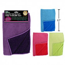 "Microfibre Double Sided Cloth ~ 11.5"" x 15.5"""