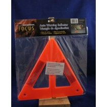 "Auto Warning Reflector Triangle ~ 9"" H"