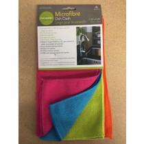 Microfibre Dish Cloth ~ 4 per pack