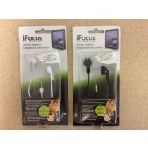 iFocus Earbuds ~ 6 assorted colors