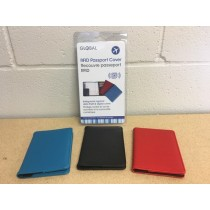 RFID Passport Cover ~ 3 colors