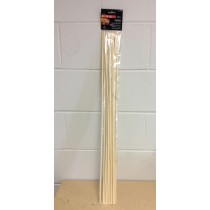 "Campfire Wooden Roasting Sticks - 30""L ~ 12 per pack"