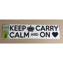 "Wall Art ~ ""Keep Calm"""