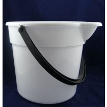 Plastic Bucket w/Spout & Handle ~ 10L