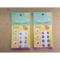 Easter Nail Stickers ~ 10 pieces