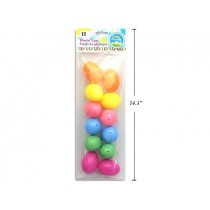 "Easter Fillable Eggs - 2.5"" Pastel ~ 12 per pack"