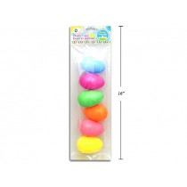 "Easter Fillable Eggs - 3.25"" Pastel ~ 6 per pack"