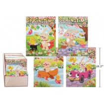 Easter Spring Time Coloring/Activity Book ~ 64 pages