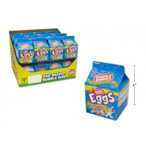 Easter Double Bubble Egg Shaped Gum ~ 100gram