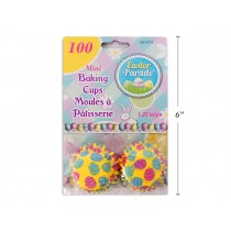 "Easter Mini Baking Cups - 1.25"" ~ 100/pk"