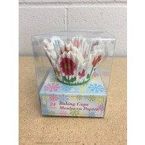 "Easter Die-Cup Petal Baking Cups - 2""~ 24 per pack"