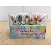 "Easter Die-Cup Petal Mini Baking Cups - 1.25""~ 48 per pack"