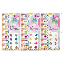 Easter Self Adhesive Glitter Finger Nail Art ~ 10 per pack