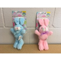 Easter Basket Decorating Plush Bunny w/Velcro Ears ~ 10""