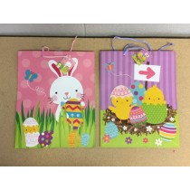 Easter Matte Finish Large Gift Bags